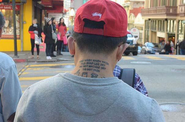 Άνθρωποι που δεν κατάλαβαν πως το τατουάζ τους θα είναι μόνιμο (25)