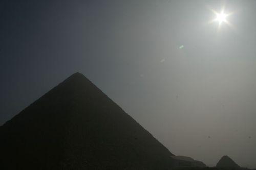 Great Pyramid at Sunrise