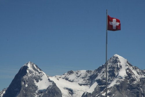 On top of Schilthorn - Switzerland