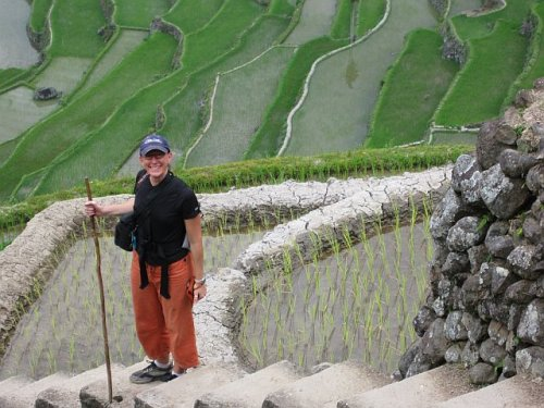 Me at the Batad Terraces