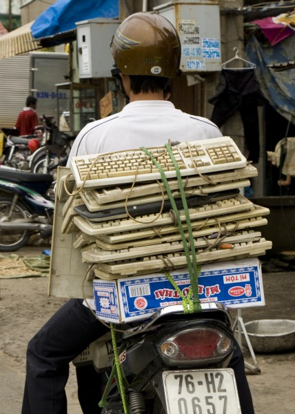 Keyboards - You wondered where they all went...now you know...
