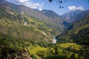 Annapurna circuit landscape