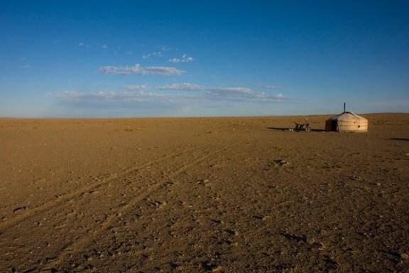 Gobi Desert Ger