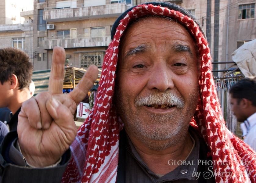 Jordan man peace