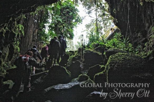 lava tube hike