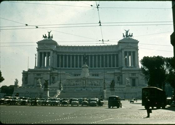 Piazza Venezia 1956
