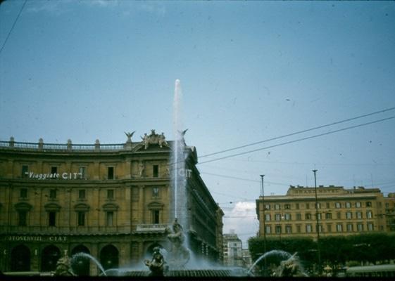 Piazza della Republica 1956