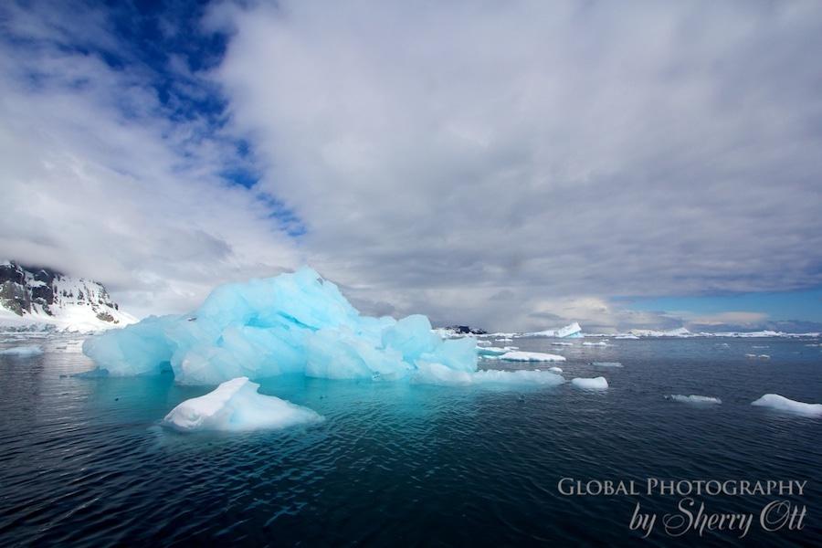 antarctica pictures iceberg cloudscape