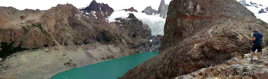 A Glacial lake near Fitz Roy