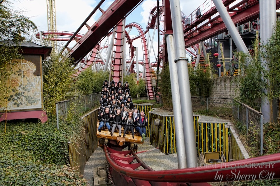 Roller coaster Tivoli