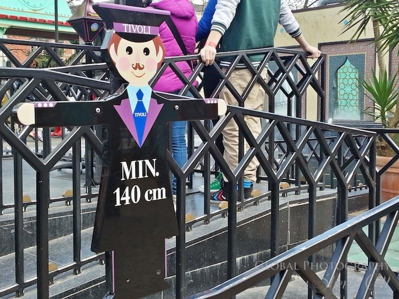 Tivoli height restrictions