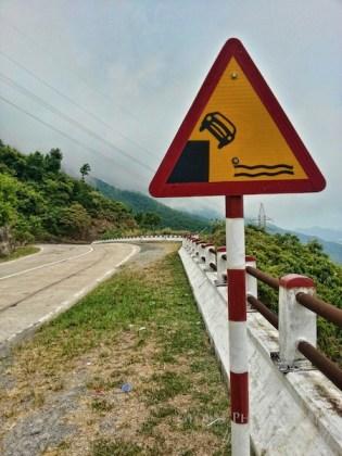 Hai Van Pass danger
