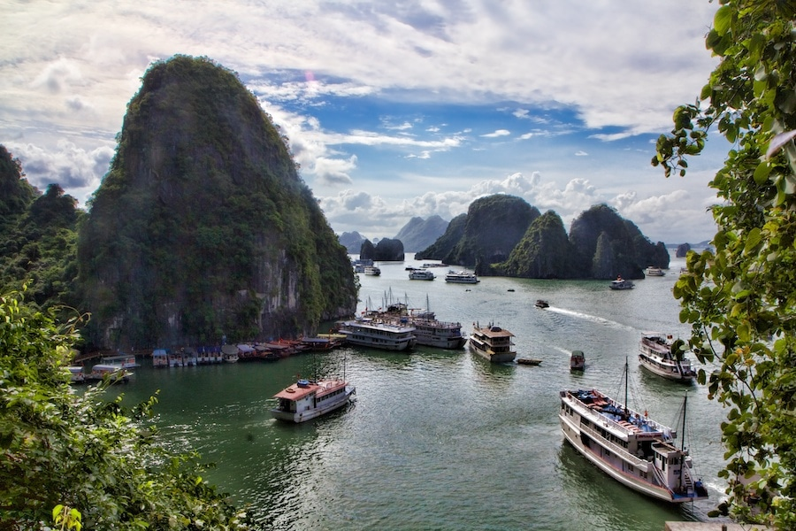 Halong Bay Vietnam pictures