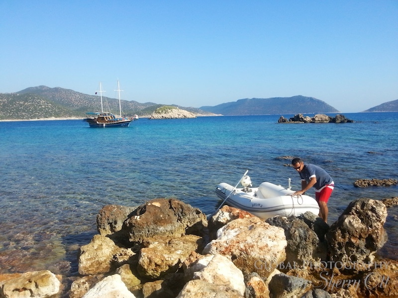 boat Lycian way