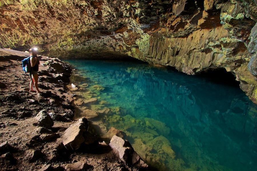 Cave photography kauai