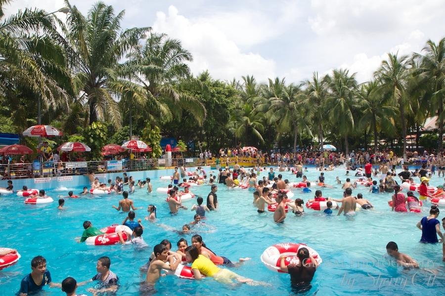 Dam Sen water park Ho Chi Minh City