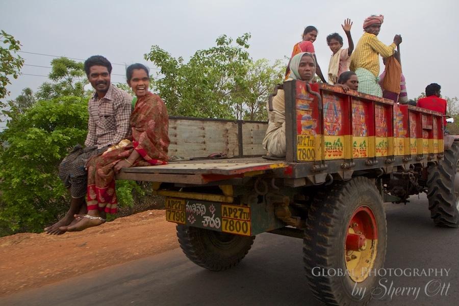 Rickshaw Run Window