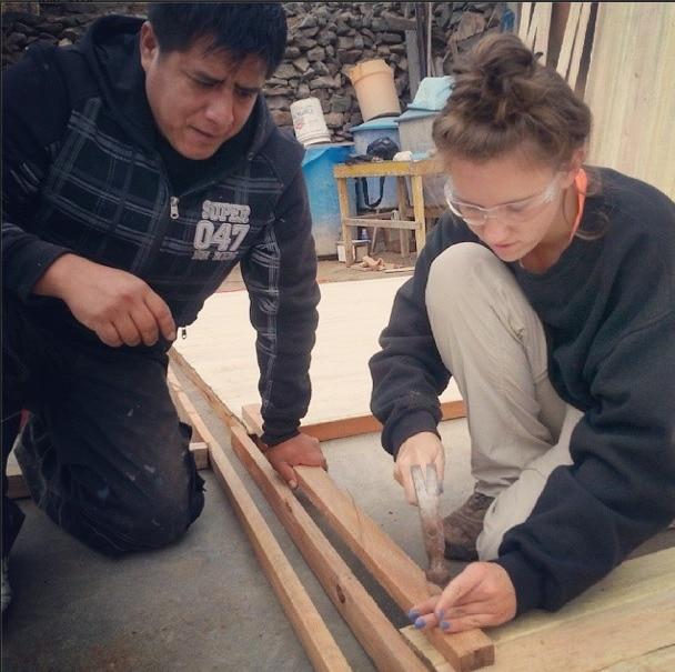 volunteering construction lima