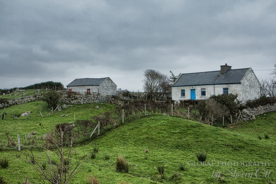 Beautiful Irish Landscapes in Galway County