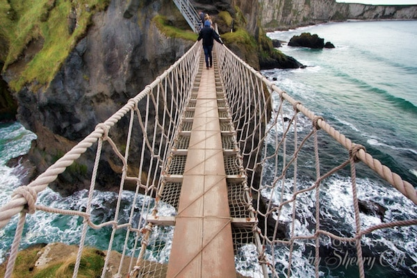 Northern Ireland Attractions Carrick-a-Rede Rope Bridge