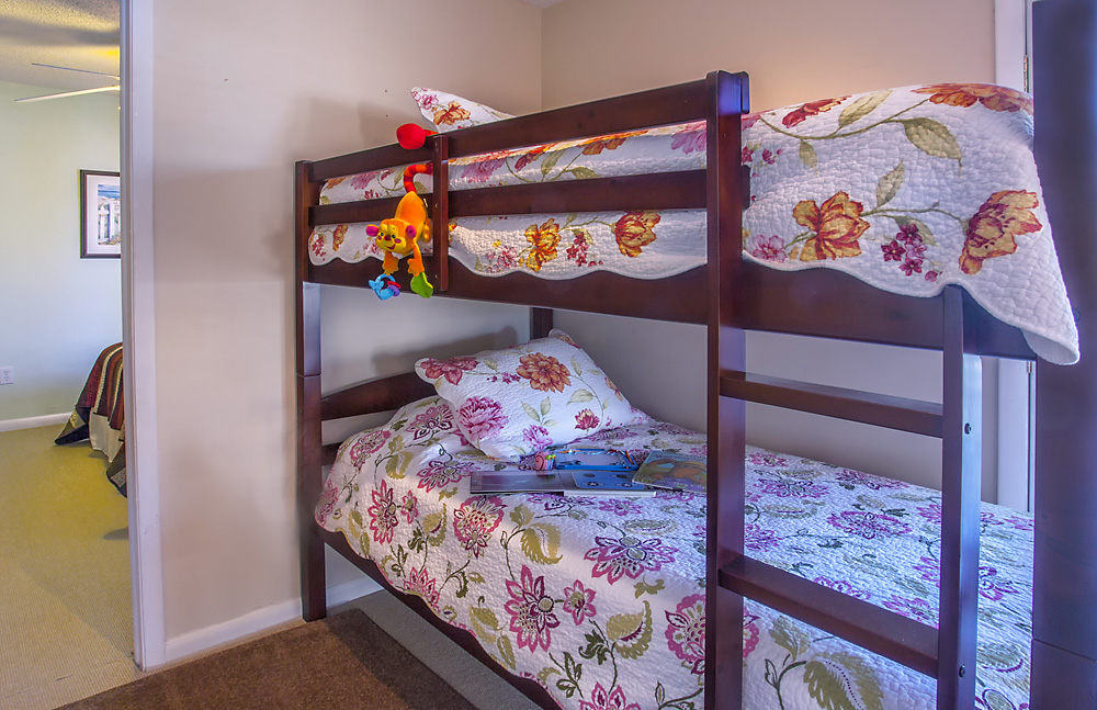 Bunk beds at the Beach House