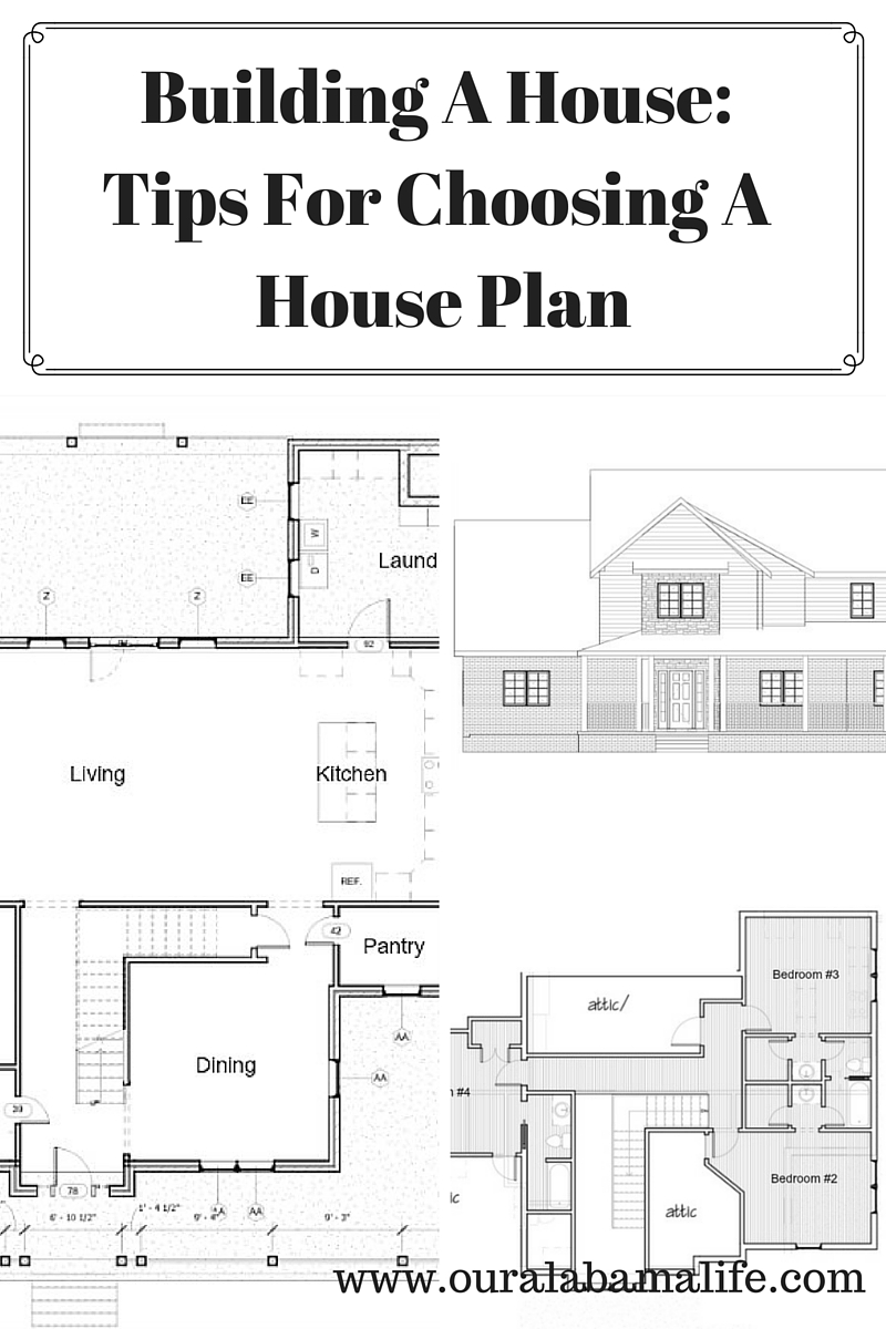 Building a house tips for choosing a house plan our - Tips for building a house ...