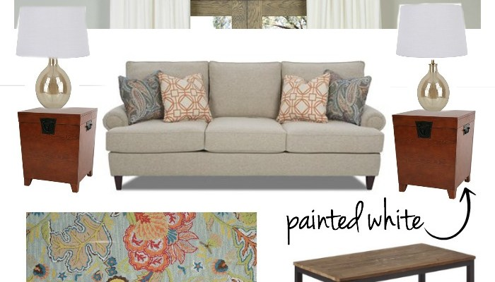 Lowe's Home Makeover – The Before and The Design Plan