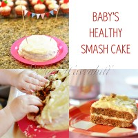 Recipe: Healthy Smash Cake for Baby's 1st Birthday