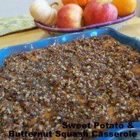 Recipe: Sweet Potato & Butternut Squash Pecan Praline Casserole