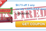 $.75/3 Larabars or Jocalat Bars Printable Coupon