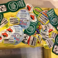 Show Your Plastic Challenge: Produce Stickers