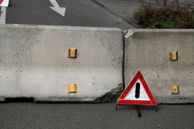 Road Block Obstacles