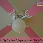How to Update or Repurpose an Outdated Ceiling Fan