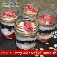 Triple Berry Cheesecake Parfaits Recipe