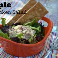 Homemade Apple Chicken Salad Recipe