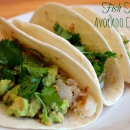 Fish Tacos Recipe with Avocado Corn Salsa