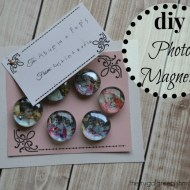 DIY Photo Magnets Tutorial