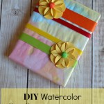 Make Unique Gift Wrapping with Watercolor M&M Painting