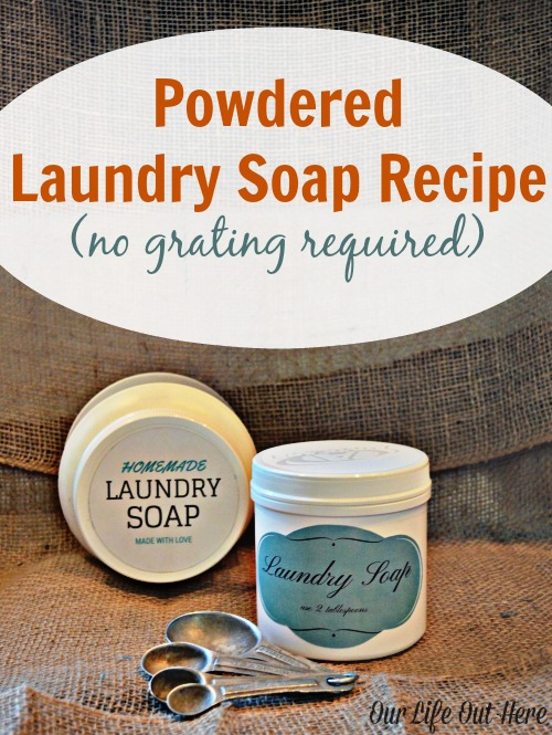 Do you want to make homemade laundry detergent but don't like grating soap? This post will show you how! (Plus, it's a really cool science experiment!) #laundrysoap #homemadecleaners