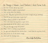 Things moms say
