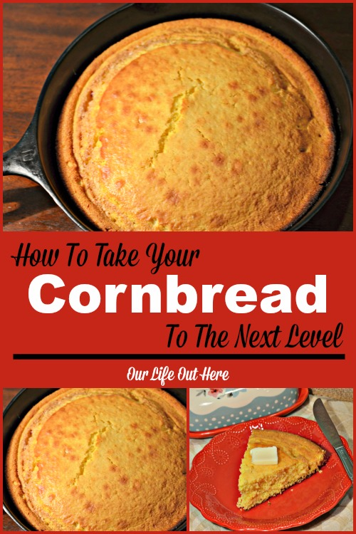 Find out how to take your favorite cornbread recipe to the next level! #comfortfood #cornbreadrecipe #cookingtips #castironcooking
