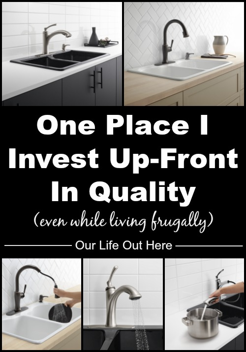 We try to live really frugally, but sometimes I've learned that investing in quality up-front save money in the long run. #ad #KohlerIdeas