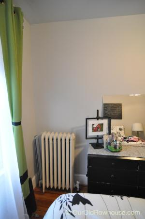 Guest room radiator