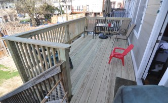 back deck finished
