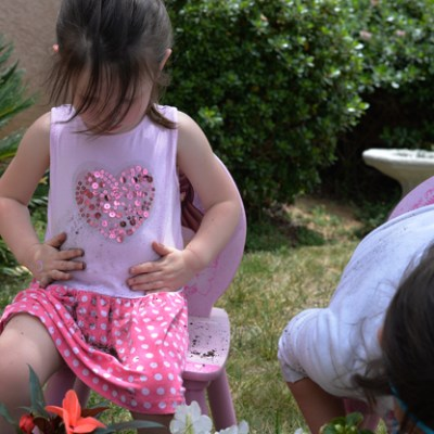 Getting Messy In The Garden With Clorox 2® Stain Remover & Color Booster