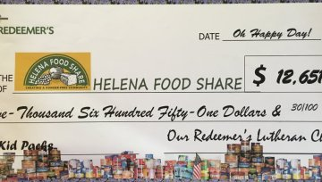 We Raised Over $12,000 for Helena Food Share!
