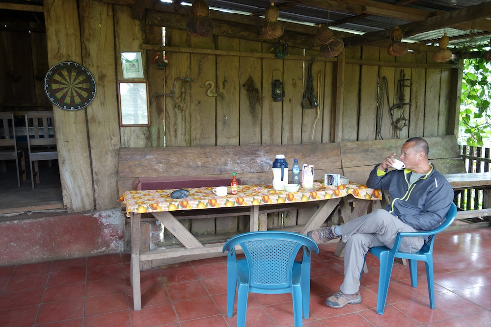 Finca Lindos Ojos has some cabins and rooms for rent, for about $30 a person including three simple meals! Great deal especially if you are solo.