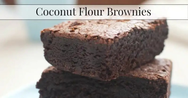 coconut flour brownies ☺♥☺ Coconut flour for your coconut flour cake and your other coconut flour recipes ☺♥☺ Most popular on pinterest with thousands of repins !! Delicious ! ☺♥☺ #carbswitch carbswitch.com Please repin :)