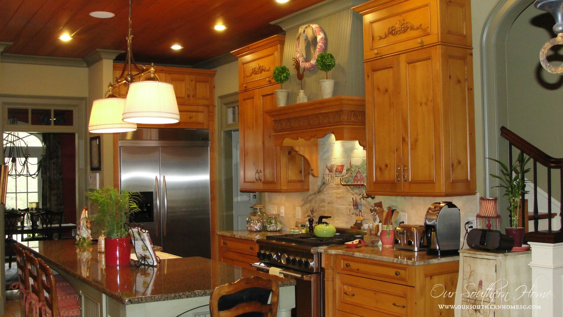 french country kitchen tour french country kitchen designs