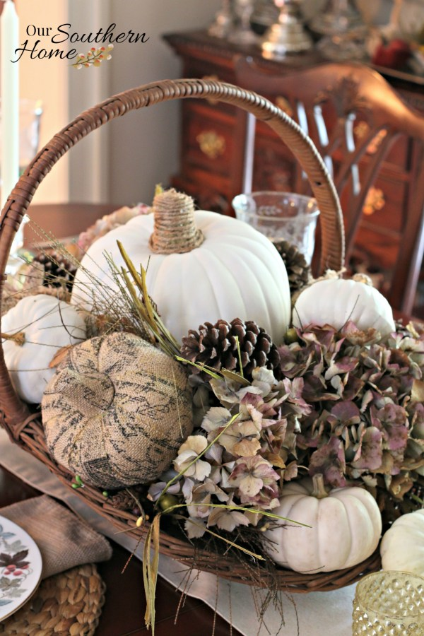 Thanksgiving tablescape for 2015 by our southern home 12